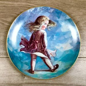 """HACKETT AMERICAN • """"Windy Day"""" Collector Plate"""